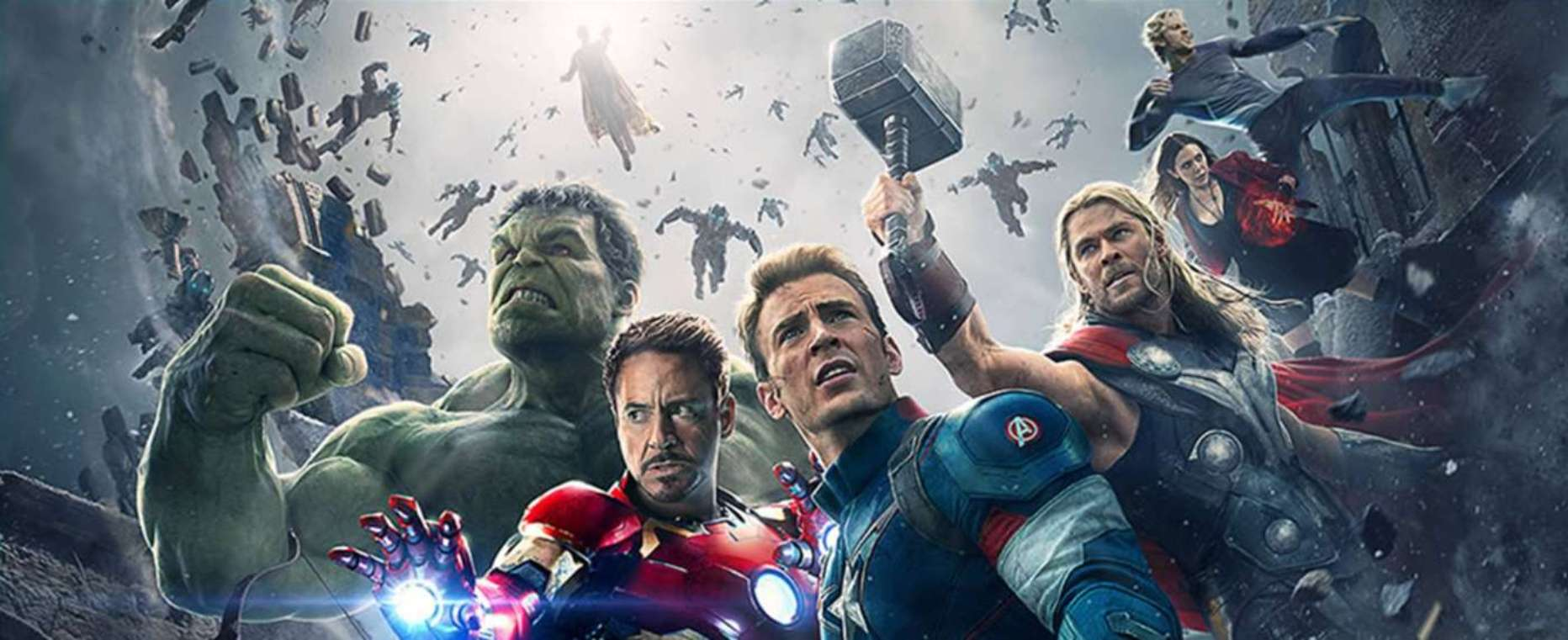 AVENGERS: AGE OF ULTRON in 2D e 3D