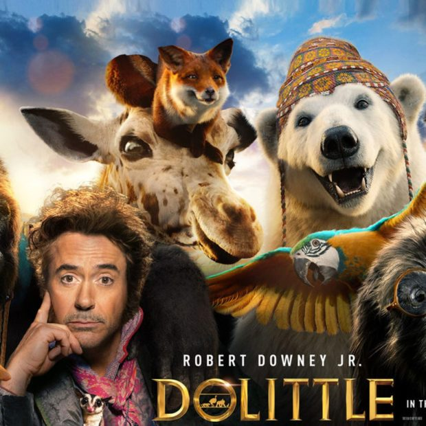 DOLITTLE con Robert Downey Jr.