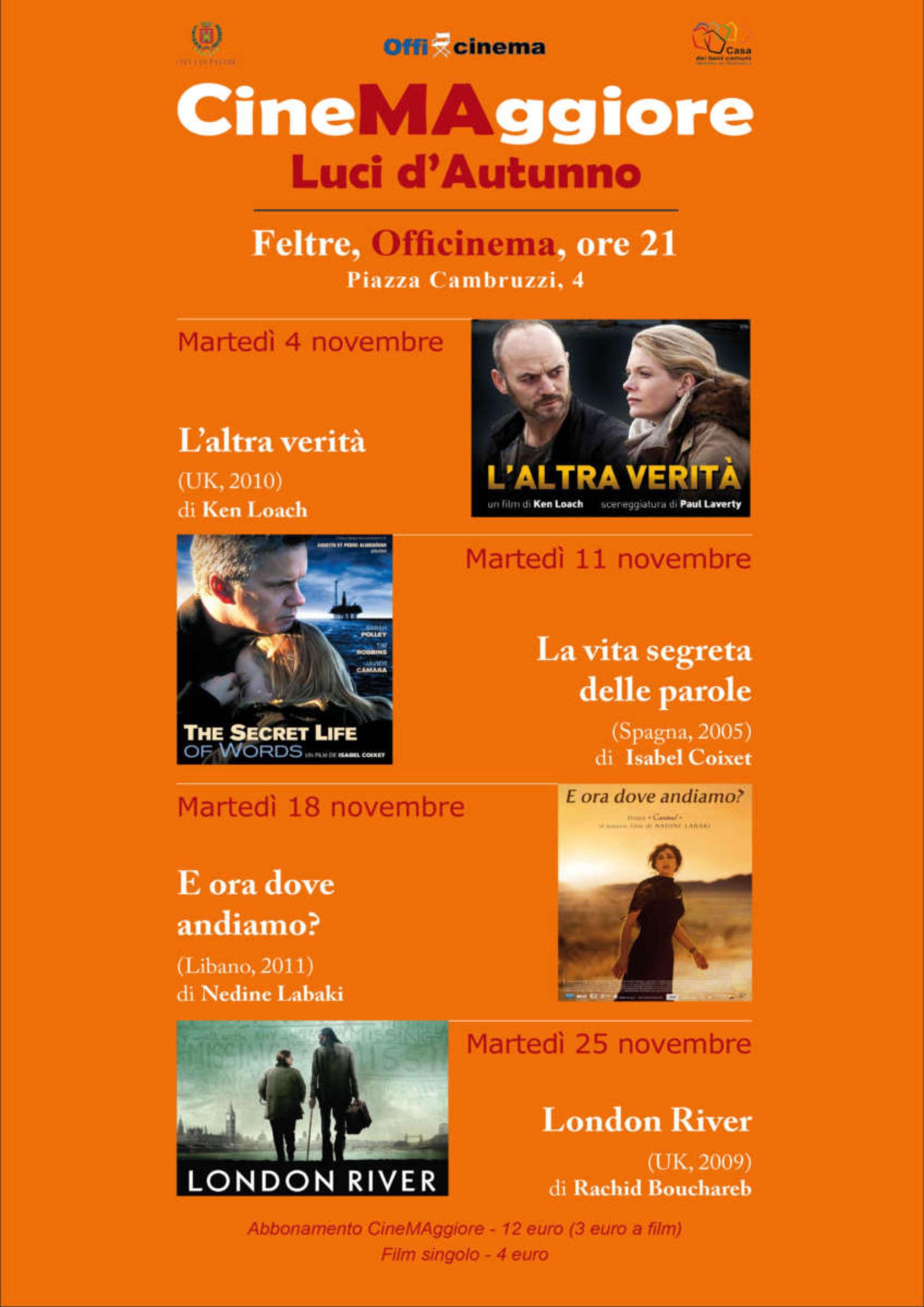 """CineMAggiore """"Luci d'Autunno"""""""