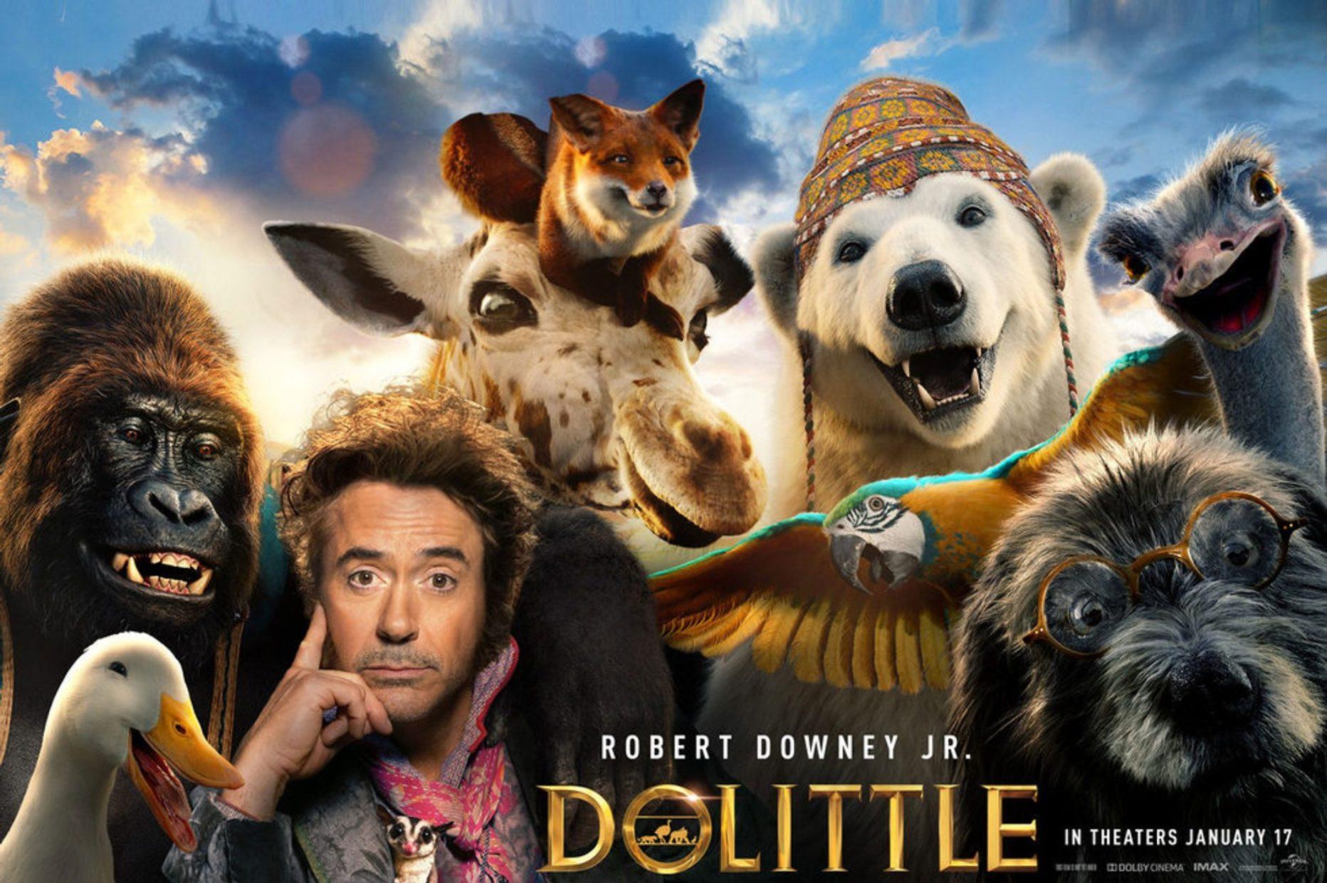 DOLITTLE con Robert Downey Jr.